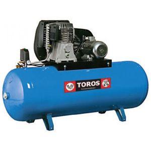 Αεροσυμπιεστής Toros N6-500F-7.5T 400V/50Hz 500lt 7.5hp τριφασικός 602013